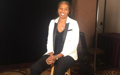 Filming with retired WNBA and NBA players