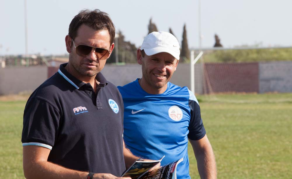 Filming, Footballers and Cyprus