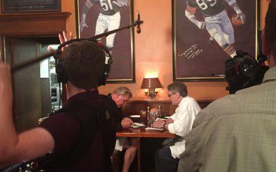 """Filming """"Da Coach"""" Mike Ditka in Chicago"""